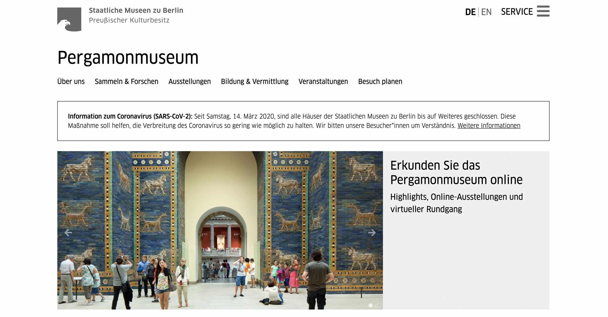 Kunst Trotz Corona Krise Virtueller Rundgang Durch Die Museen