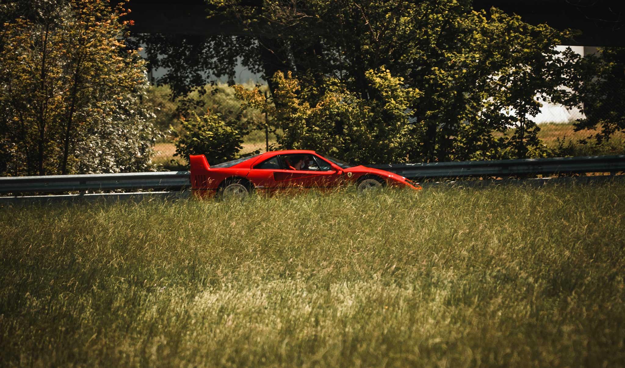 Ferrari Fahrt - Geschenke für Autoliebhaber