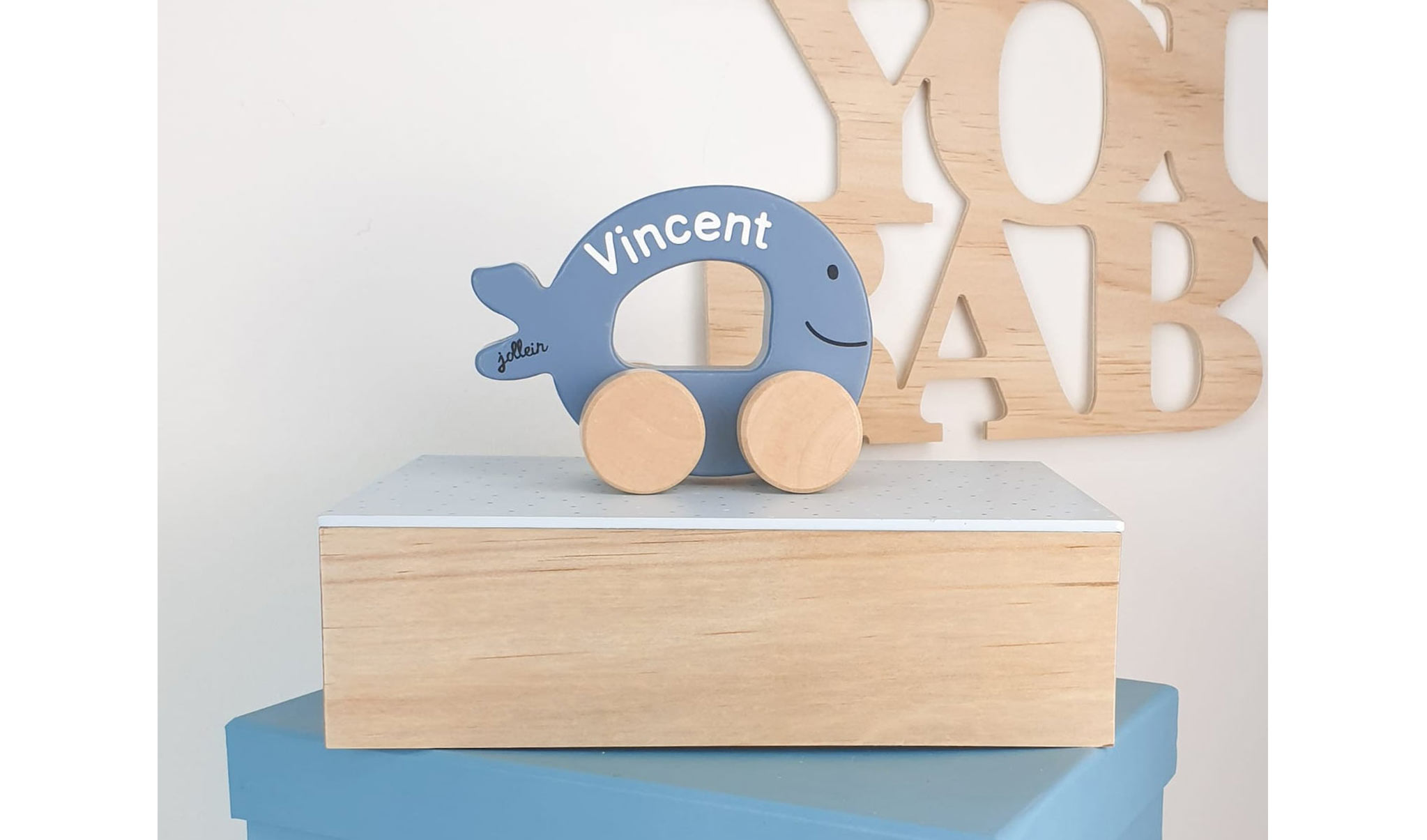 Personalisiertes Holzspielzeug zum Geburtstag